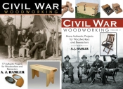 Civil War Woodworking Covers
